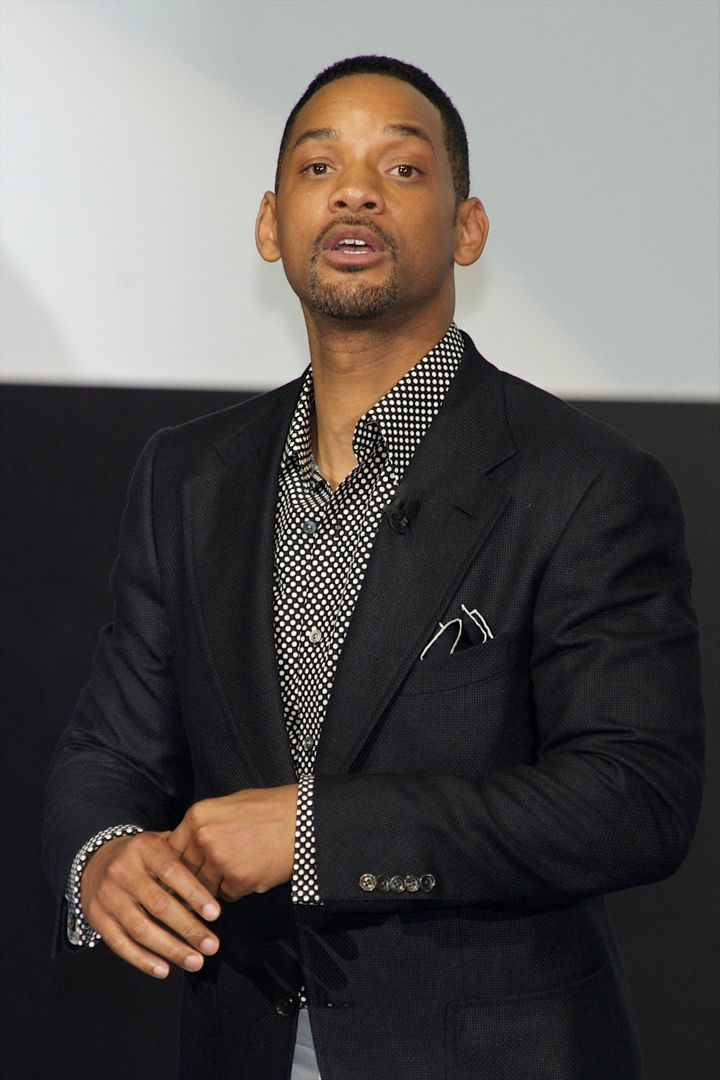 MADRID, SPAIN - MAY 13: Actor Will Smith attends the 'Men In Black 3' premiere at La Caja Magica on May 13, 2012 in Madrid, Spain. (Photo by Carlos Alvarez/Getty Images)