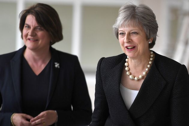 Theresa May and Arlene