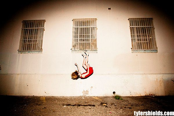 Tyler Shields' 'Suspense' Series Sees Emma Roberts Flying, Falling