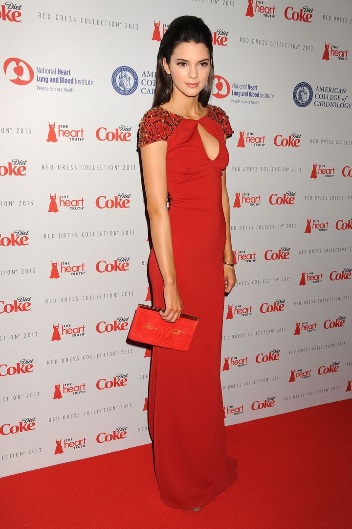 NEW YORK, NY - FEBRUARY 06:  Kendall Jenner attends The Heart Truth 2013 Fashion at Hammerstein Ballroom on February 6, 2013