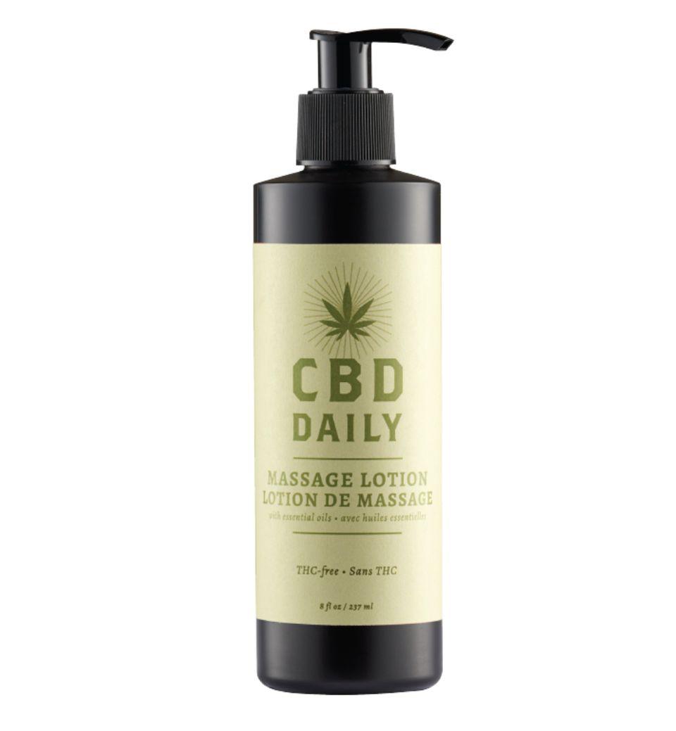 CBD Oil Massage Lotion