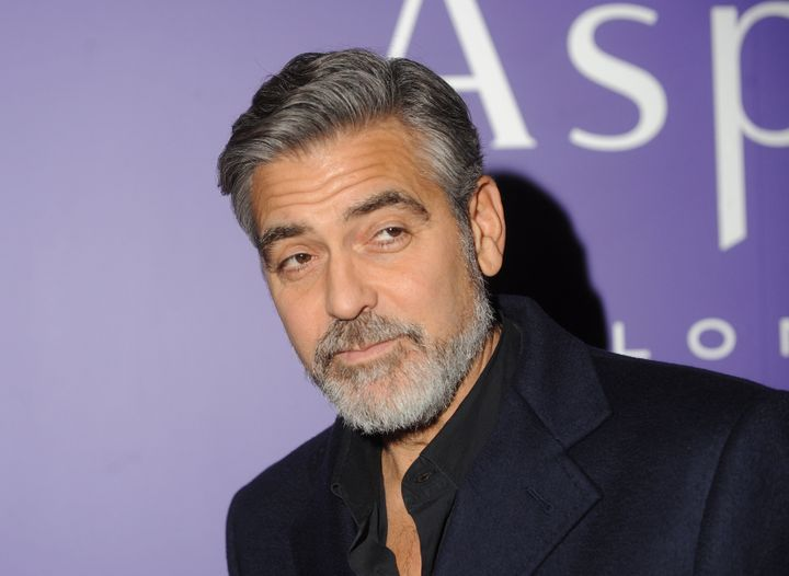 LONDON, UNITED KINGDOM - FEBRUARY 09: George Clooney attends the EE British Academy Film Awards nominees party at Asprey Lond