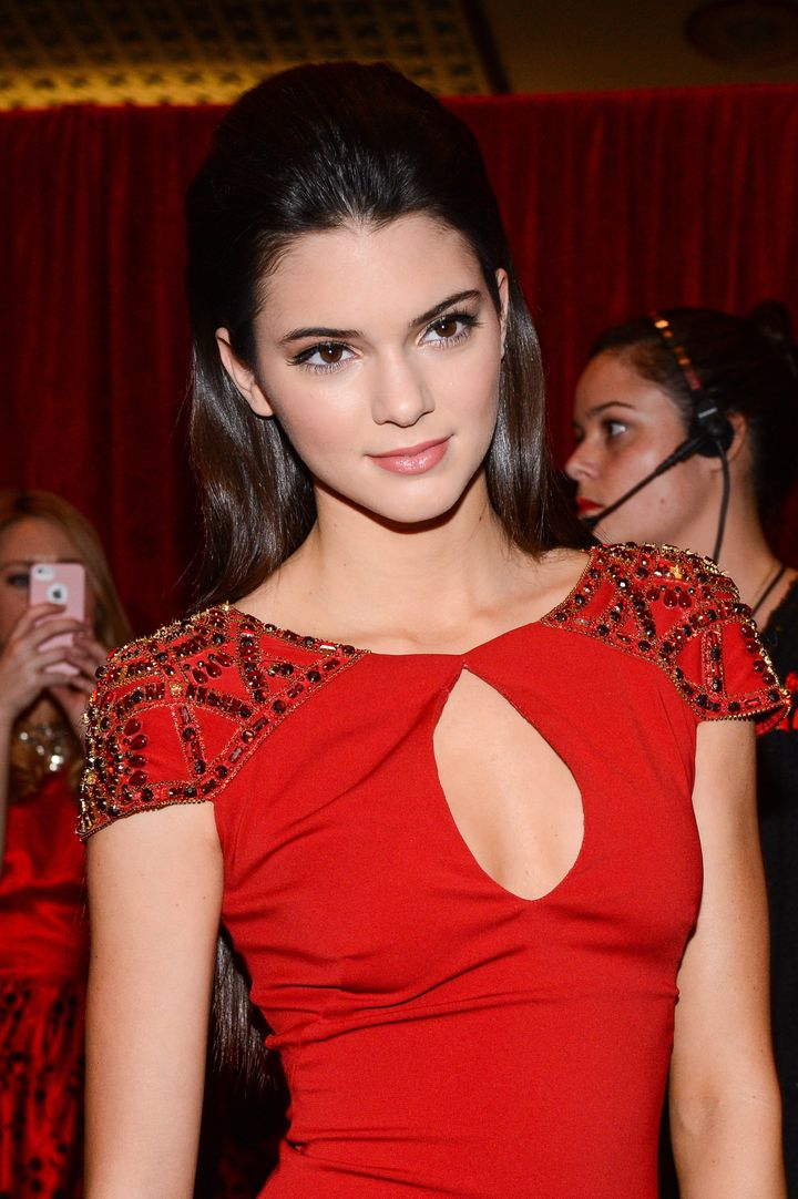 NEW YORK, NY - FEBRUARY 06:  TV personality Kendall Jenner attends The Heart Truth's Red Dress Collection Fall 2013 Mercedes-