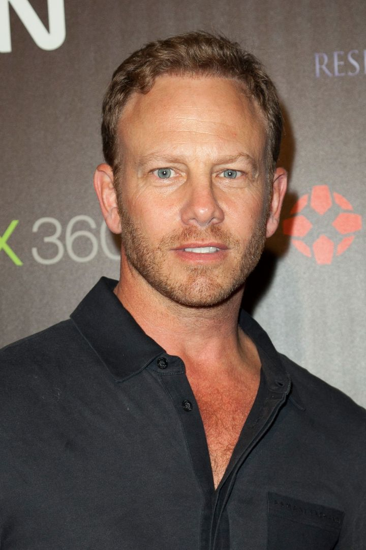 HOLLYWOOD, CA - SEPTEMBER 28:  Actor Ian Ziering attends IGN's party celebrating the launch of Capcom's 'Resident Evil 6' at