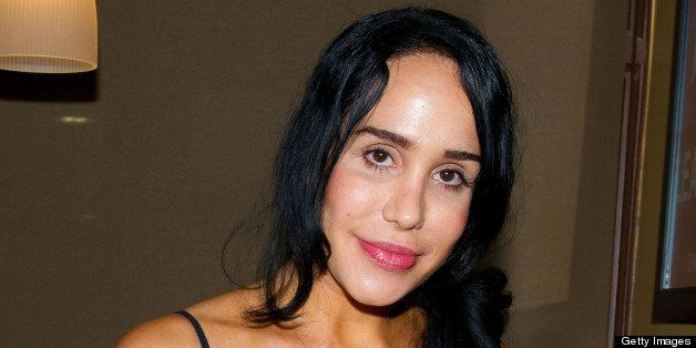 KING OF PRUSSIA, PA - JUNE 22: Nadya 'Octomom' Suleman poses at the Celebrity Pillow Fight Press Conference and Weigh In at t