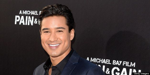HOLLYWOOD, CA - APRIL 22:  Tv personality Mario Lopez arrives at the premiere of Paramount Pictures' 'Pain & Gain' at TCL Chi