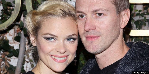 LOS ANGELES, CA - DECEMBER 06: Jaime King and Kyle Newman are seen on December 6, 2012 in Los Angeles, California. (Photo by