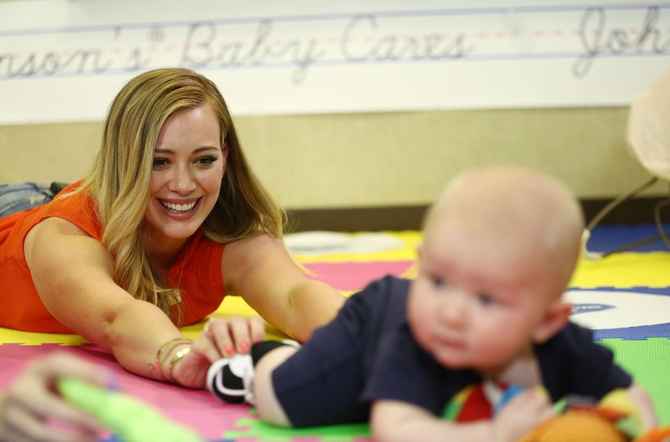 Hilary Duff rejoins JOHNSON'S® Baby CARES for year two of the campaign in support of Children's Humanitarian Organization, Sa