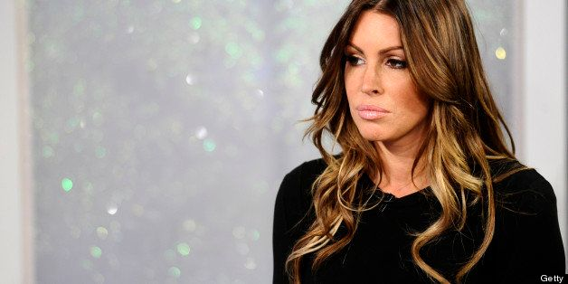 TODAY -- Pictured: Rachel Uchitel appears on NBC News' 'Today' show  (Photo by Peter Kramer/NBC/NBCU Photo Bank via Getty Ima