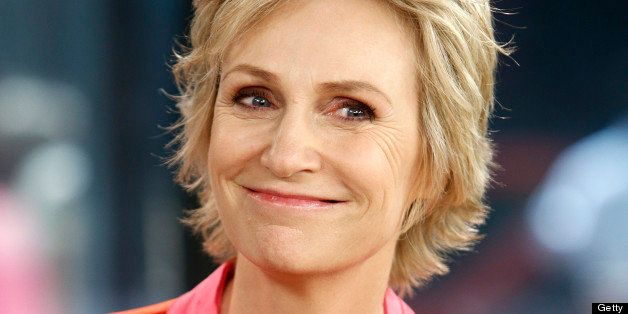 TODAY -- Pictured: Jane Lynch appears on NBC News' 'Today' show -- (Photo by: Peter Kramer/NBC/NBC NewsWire via Getty Images)