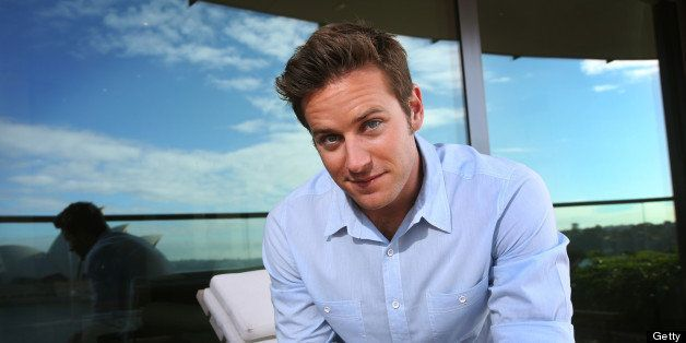 SYDNEY, AUSTRALIA - JUNE 4:  (EUROPE AND AUSTRALASIA OUT) American actor Armie Hammer, who is in Australia to promote his new
