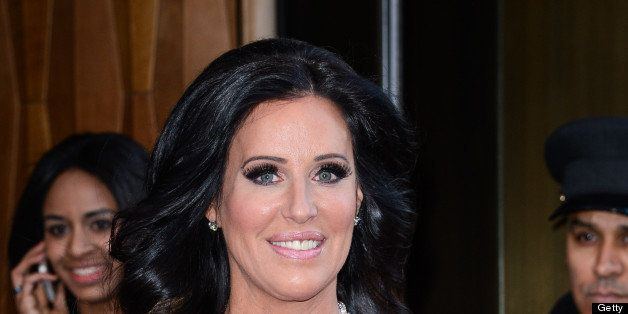 NEW YORK, NY - APRIL 03:  TV personality Patti Stanger leaves her Soho hotel on April 3, 2013 in New York City.  (Photo by Ra