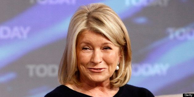 TODAY -- Pictured: Martha Stewart appears on NBC News' 'Today' show -- (Photo by: Peter Kramer/NBC/NBC NewsWire via Getty Ima