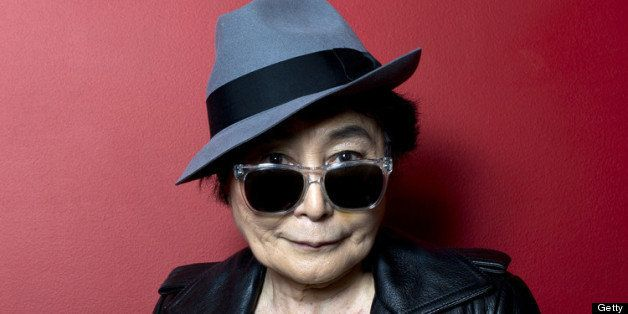 LONDON, ENGLAND - JUNE 22:  (EXCLUSIVE COVERAGE) Yoko Ono introduces a special screening of 'GasLand' as part of the BFI Scre