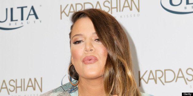 BURBANK, CA - JUNE 19: Khloe Kardashian Odom celebrates the new Kardashian Sun-Kissed Line at ULTA Beauty-Burbank Empire Center on June 19, 2013 in Burbank, California. (Photo by Tibrina Hobson/WireImage)