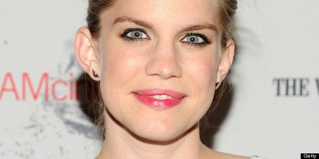 NEW YORK, NY - JUNE 19:  Actress Anna Chlumsky attends the BAMcinemaFest 2013 and The Cinema Society opening night premiere o