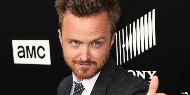 CULVER CITY, CA - JULY 24:  Actor Aaron Paul arrives as AMC Celebrates the final episodes of 'Breaking Bad' at Sony Pictures