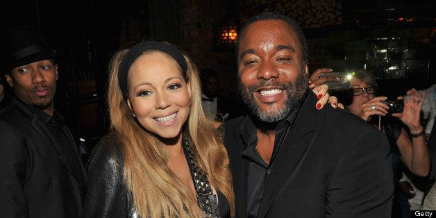 NEW YORK, NY - AUGUST 05:  Actress Mariah Caraey (L) and director Lee Daniels attend Lee Daniels' 'The Butler' New York premi