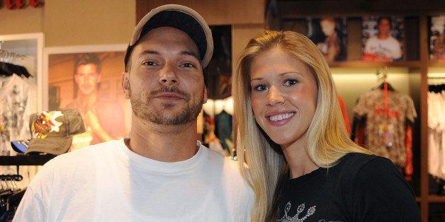 BRISBANE, AUSTRALIA - NOVEMBER 26:  Kevin Federline, ex-husband of Britney Spears, makes an instore appearance with girlfrien