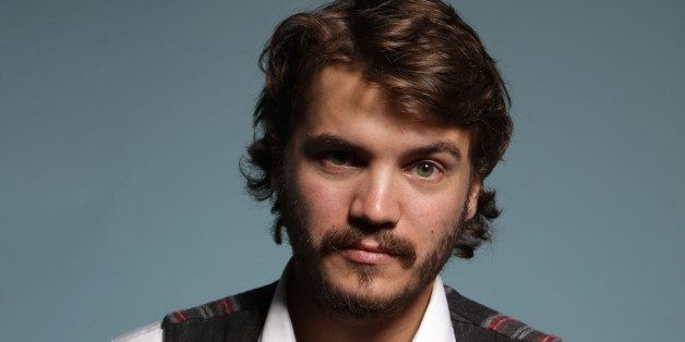 TORONTO, ON - SEPTEMBER 12:  Actor Emile Hirsch of 'Killer Joe' poses during the 2011 Toronto Film Festival at Guess Portrait