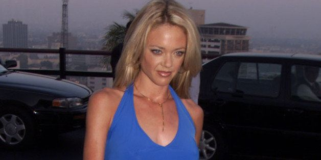 Lisa Robin Kelly of the FOX series 'That '70s Show' arrives at the FOX 2000 summer press tour party at Yamashiro Restaurant i