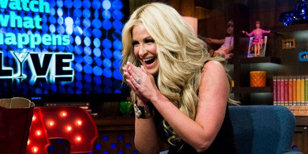 WATCH WHAT HAPPENS LIVE -- Pictured: Kim Zolciak -- Photo by: Charles Sykes/Bravo/NBCU Photo Bank via Getty Images