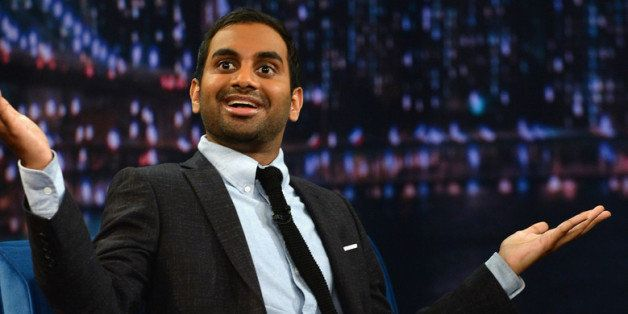 NEW YORK, NY - MAY 21:  Aziz Ansari visits 'Late Night With Jimmy Fallon' at Rockefeller Center on May 21, 2013 in New York C