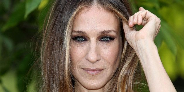 LONDON, ENGLAND - JUNE 26:  Sarah Jessica Parker attends the annual Serpentine Gallery summer party at The Serpentine Gallery