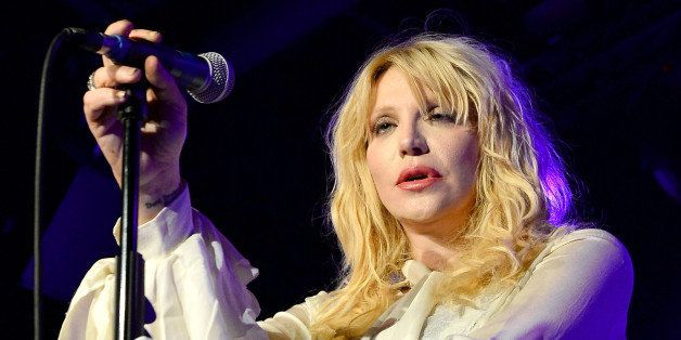 LAS VEGAS, NV - AUGUST 22:  Recording artist Courtney Love performs at Vinyl inside the Hard Rock Hotel & Casino during the v