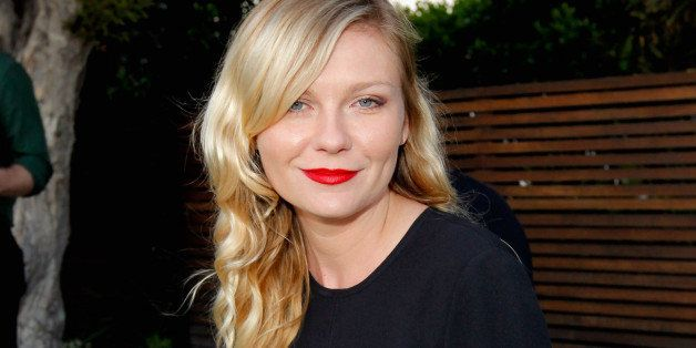 LOS ANGELES, CA - JUNE 13:  Actress Kirsten Dunst attends an informal supper hosted by Barneys New York to toast designers Ja