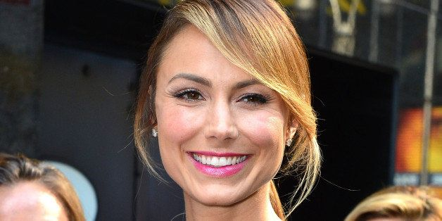 NEW YORK, NY - JULY 17:  Stacy Keibler visits ABC's 'Good Morning America' on July 17, 2013 in New York, United States.  (Pho