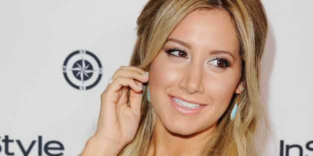 Ashley Tisdale: Labor Day Party With Christopher French