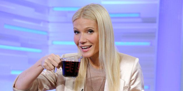 GOOD MORNING AMERICA - Gwyneth Paltrow shares her favorite family recipes on GOOD MORNING AMERICA, 4/13/11 airing on the ABC