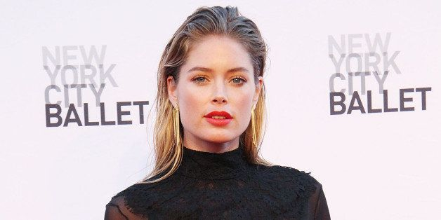 NEW YORK, NY - SEPTEMBER 19:  Doutzen Kroes attends the New York City Ballet 2013 Fall Gala at David H. Koch Theater, Lincoln