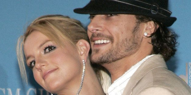 Britney Spears and Kevin Federline (Photo by J. Merritt/FilmMagic)