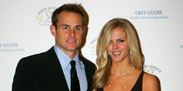 AUSTIN, TX - NOVEMBER 30:  Tennis Pro Andy Roddick and wife, model Brooklyn Decker attend the 4th Annual Andy Roddick Foundat