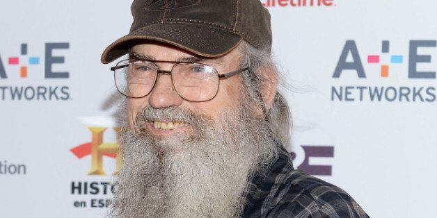 NEW YORK, NY - MAY 08:  Si Robertson of 'Duck Dynasty' attends the A+E Networks 2013 Upfront  on May 8, 2013 in New York City