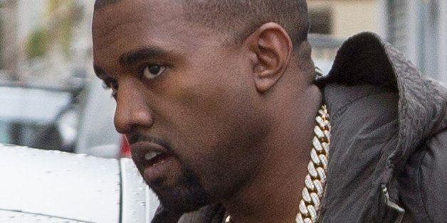 PARIS, FRANCE - SEPTEMBER 18:  Singer Kanye West arrives at the 'A.P.C.' office on September 18, 2013 in Paris, France.  (Pho