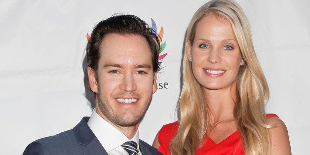 LOS ANGELES, CA - JUNE 06:  (L-R) Mark Paul Gosselaar and Catriona McGinn attend the 9th Annual Triumph for Teens at Hotel Be