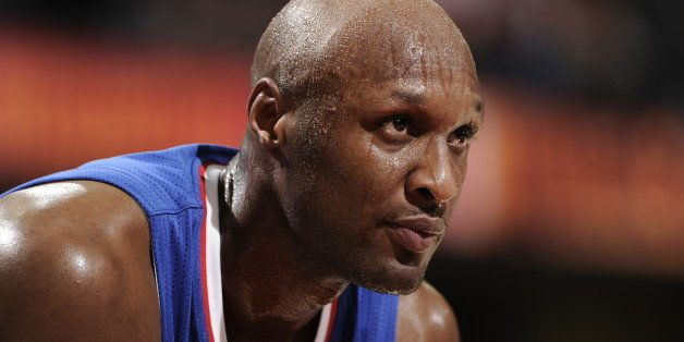 CLEVELAND, OH - MARCH 1:  A close up shot of Lamar Odom #7 of the Los Angeles Clippers during the game against the Cleveland