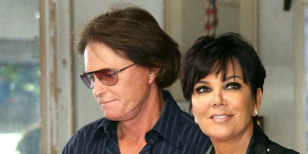 LOS ANGELES, CA - MARCH 21: Bruce Jenner and Kris Jenner are seen on March 21, 2013 in Los Angeles, California. (Photo by JB