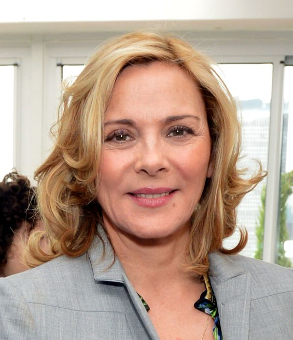 "Davis isn't the only sober ""SATC"" lady. ""I'm not a big drinker and when I do, I get a headache. I don't drink or take drugs s"