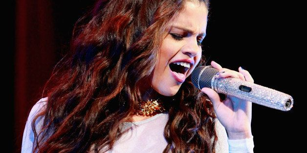 NEW YORK, NY - OCTOBER 16:  Selena Gomez performs at the Barclays Center on October 16, 2013 in the Brooklyn borough of New Y