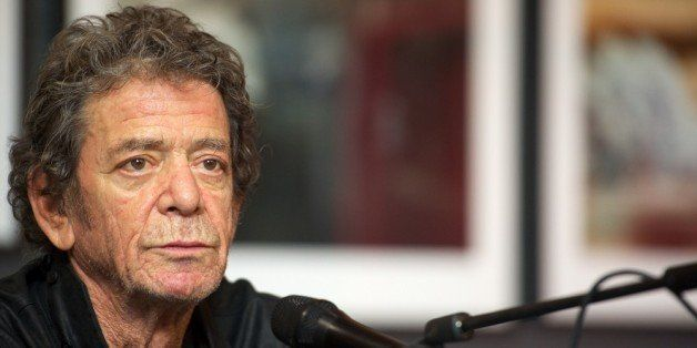 MADRID, SPAIN - NOVEMBER 16:  Lou Reed presents his photography exhibition at the Matadero cultural center on November 16, 20