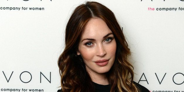 NEW YORK, NY - NOVEMBER 22: (EXCLUSIVE COVERAGE)  Megan Fox wears the new Avon Empowerment Bracelet that will raise funds for