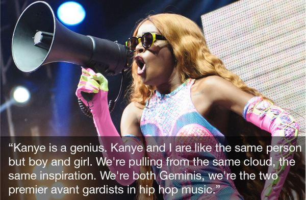 """Azealia's label of genius by association makes the cut because anyone up for the title of """"premier avant gardist"""" must have a"""
