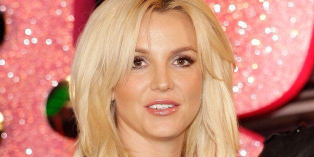 LAS VEGAS, NV - DECEMBER 03:  Britney Spears celebrates her official arrival at Planet Hollywood Resort & Casino on December