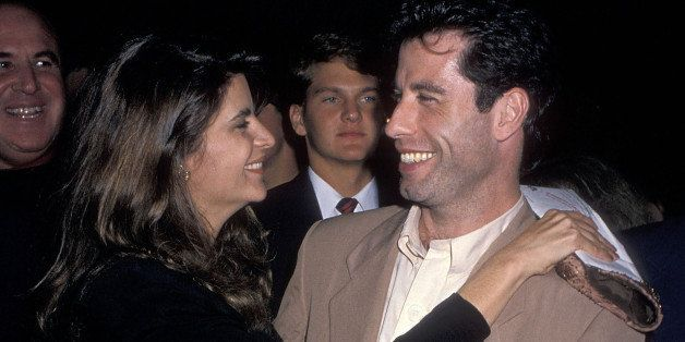 BEVERLY HILLS, CA - OCTOBER 12: Actress Kirstey Alley and actor John Travolta attend the 'Look Who's Talking' Beverly Hills Premiere on October 12, 1989 at the Academy of Motion Picture Arts & Sciences in Beverly Hills, California. (Photo by Ron Galella, Ltd./WireImage)