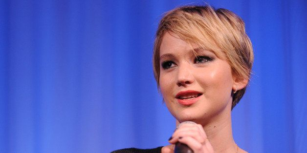 NEW YORK, NY - DECEMBER 07:  Jennifer Lawrence attends the Academy of Motion Picture Arts and Sciences Official Academy Membe