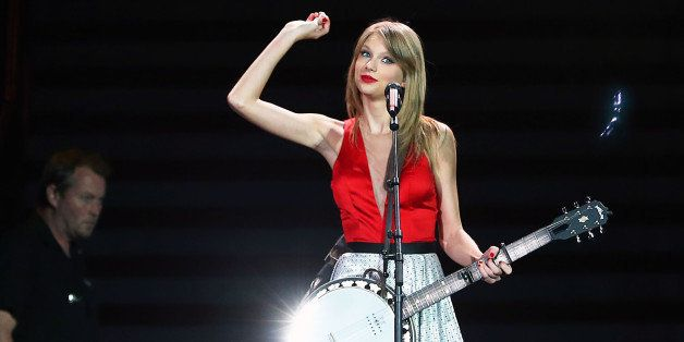 MELBOURNE, AUSTRALIA - DECEMBER 14:  Seven-time Grammy winner Taylor Swift concluded the Australian leg of her RED tour, play